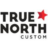True North Custom  Logo