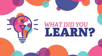 What Did You Learn - Tidal Health Group