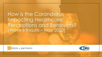 How is the Coronavirus Impacting Healthcare Perceptions and Behaviors?
